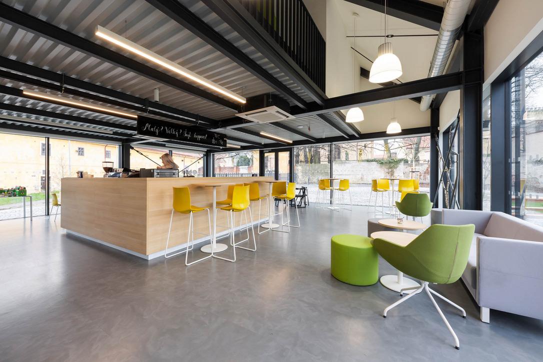 Leisure center H55 - Szturc interior realization